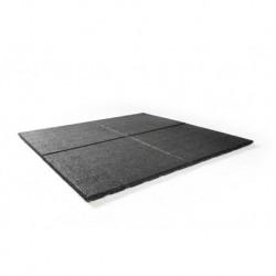 Tegel 100x100x2,5 cm zwart